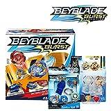 BEYBLADE *爆破包 -- Epic Rivals 战斗套装、Rip Fire 入门包Valtryek V2 以及双包装 Caynox 和 Wyvron W2