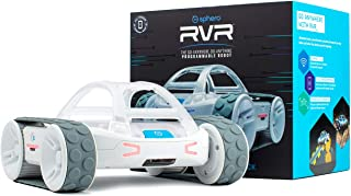 Sphero :应用启用机器人球,STEM 儿童学习和编码,可编程 LED 矩阵,蓝牙连接,学习软件和刮痕,Swift 游戏场兼容 RVR Rvr
