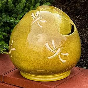Alfresco Home Ceramic Dragonfly 室内室外喷泉