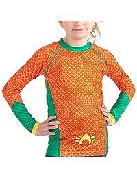 Fusion Aquaman 儿童压缩衬衫 BJJ *衣 - 长袖