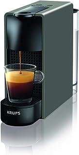 Krups 克鲁伯 Nespresso XN1108 Essenza 迷你胶囊咖啡机(1260瓦,恒温块加热系统,0.7升,19巴)黑色