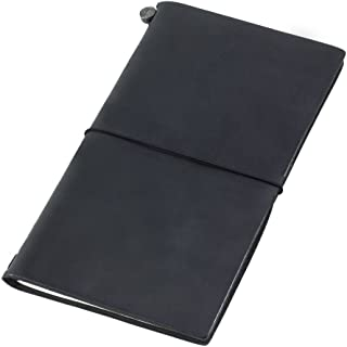 MIDORI TRAVELER'S Notebook 皮质笔记本 黑色 标准型