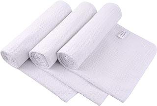 SUNLAND 超细纤维运动毛巾 速干健身运动毛巾 男女皆宜 轻质多功能健身运动毛巾 3 条装 16 英寸 x 32 英寸