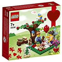 LEGO 乐高 拼插类玩具 浪漫情人节野餐会 40236