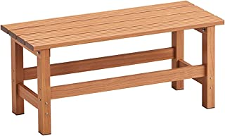 天马 铝踏板 木纹 棕色 棕色 90×36×40cm -