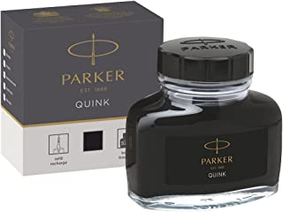 PARKER QUINK 钢笔墨水的 tintenfass in Blister - 包 , 57毫升 in Box-Packung 黑色