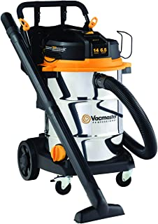 Vacmaster - Beast Professional Series 14 Gal. 6.5 HP Steel Tank Wet/Dry Vac with Cart (VJE1412SW0201) 需配变压器