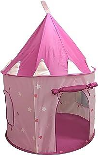 SueSport 女孩公主城堡游戏帐篷 粉色