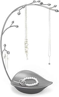 Umbra Orchid Metal Jewelry Tree, Gunmetal Gray
