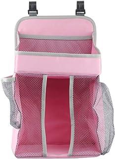 TOPBATHY 挂式尿布收纳袋 婴儿挂式尿布收纳袋 婴儿托儿所*收纳袋(粉色)