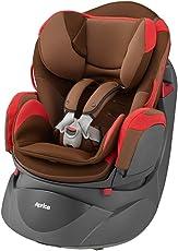 Aprica 阿普丽佳 可座可躺婴儿汽车安全座椅 乐酷哆汽车座椅(红色)(适合0-4岁宝宝,五点式安全带,单手单键操控阀)