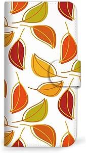 mitas iphone 手机壳74SC-0080-WO/SO-02K 2_Xperia XZ1 Compact (SO-02K) 白橙