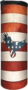 无树问候语 Barista 吸尘器隔热 Stars & Stripes Eagle 17 Ounce BT21935