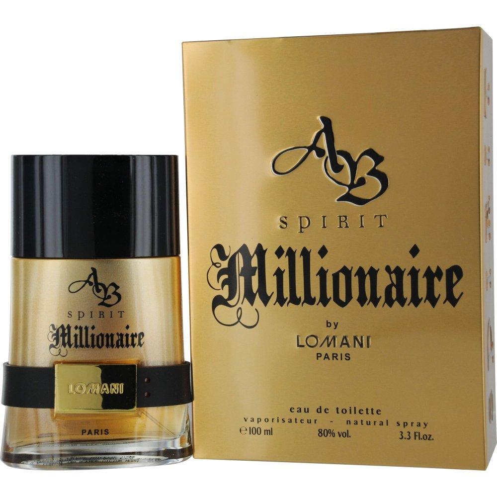 lomani ab spirit millionaire eau de toilette spray for men