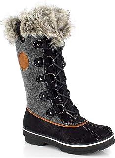 KIMBERFEEL Sissi 女士灰色滑雪鞋