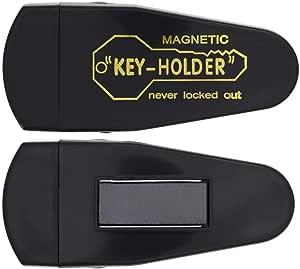 3 个大磁性隐藏钥匙扣,适合超大钥匙 - *磁贴