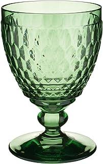 villeroy & boch BOSTON 透明* goblets ,4件套 绿色