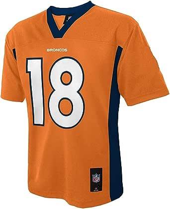 Peyton Manning 丹佛野马队 橙色 NFL 儿童 2013-14 赛季中层运动衫(儿童 4)