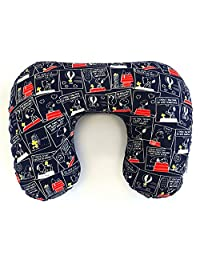 VANGUARD 颈枕 *蓝 约宽37×高约28×厚约116cm