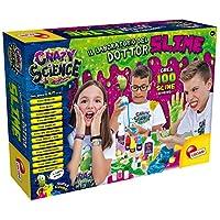 Lisciani Giochi 77496 儿童疯狂科学玩具,Great Doctor Slime Laboratory