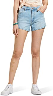 Wrangler 女式高腰弹力牛仔短裤