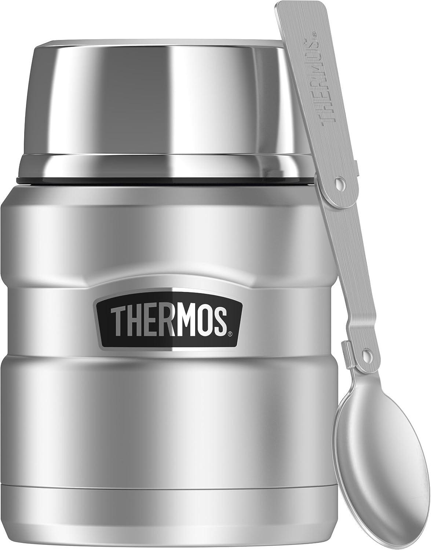 THERMOS 膳魔师 不锈钢468毫升食品罐,带折叠勺子