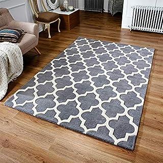Rugs Direct 地毯 灰色 80 x 150 cm 34114