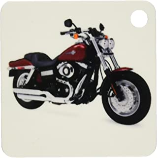 kc_4662 Key Chain Picturing Harley-Davidson® Motorcycle Dyna FXD