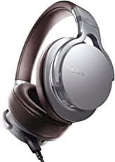 Sony 索尼 MDR-1ADAC/SMCN 头戴式立体声耳机 银色 (令人惊艳的声效 来自内置数字放大器的耳机)