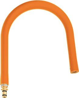 GROHE 30321MW0 Essence 全新半专业水龙头软管,哑光透明大理石 橙色 30321YR0