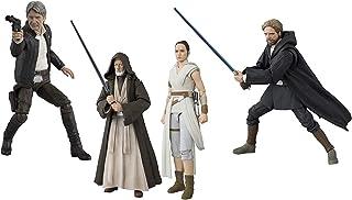 S.H.Figuarts Ben Kenobi (*四集 A New Hope Han Solo (原力觉醒)Rei & D-O(天行者卢克·天行者崛起)(*后的绝地武士4 件套