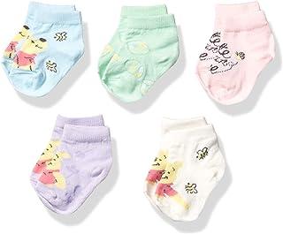 Winnie the Pooh Baby 短袜 5 双装