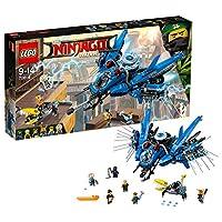 LEGO 乐高  拼插类 玩具  Ninjago 幻影忍者系列 雷电忍者的雷霆战斗机 70614 9-14岁