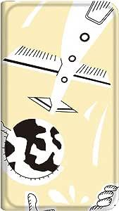 智能手机壳 手册式 对应全部机型 薄型印刷手册 cw-211top 套 手册 动画 极薄 轻量 UV印刷 壳WN-PR043260-MX AQUOS PHONE ZETA SH-01H B款