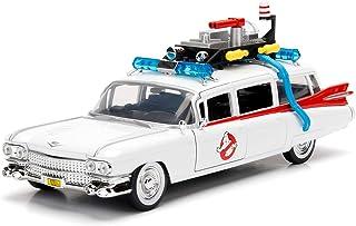 Jada- Ghostbusters 汽车 ECTO-1 金属 1:24 系列,白色 (253235000)
