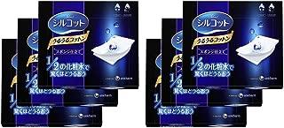 【日本亞馬遜限定】Silcot 舒蔻 絲滑化妝棉 海綿型 40枚×6盒 附產品介紹冊