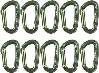 Fusion Climb Contigua 军事战术版直门铝制登山折叠杆绿色 10 件装