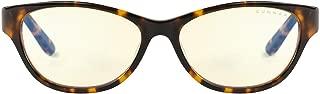 Gunnar Optiks JWL-02301 Jewel 电脑眼镜 - 遮挡蓝光、防眩光、*大程度减少数字*、玳瑁/琥珀色