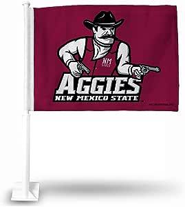 NCAA 新墨西哥州汽车旗,20.32 x 1,标志颜色
