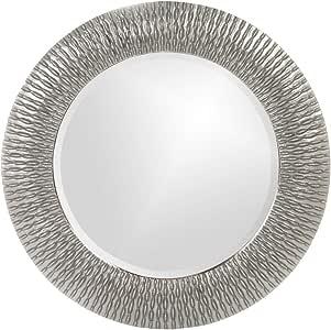 Howard Elliott 21143N Bergman Mirror, 22-Inch/Small, Nickel