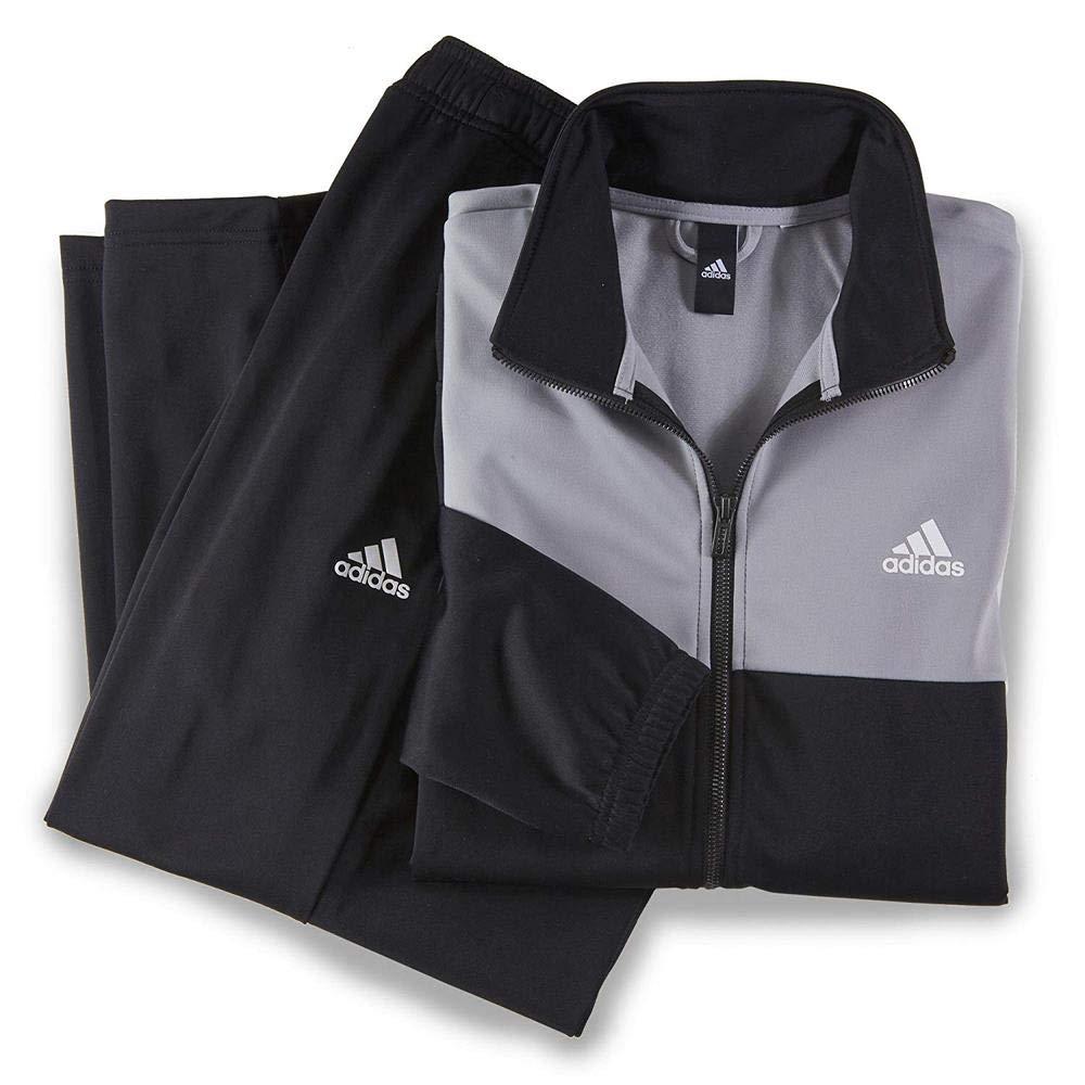 181804addfb4c adidas 男式back2basics TS 运动服-运动户外休闲-亚马逊中国