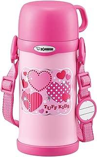 ZOJIRUSHI 象印 水瓶 附水杯 不銹鋼保溫杯 600毫升 SC-MC60-PA 粉色