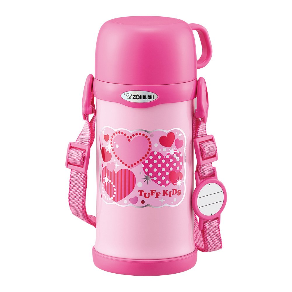 ZOJIRUSHI 象印 水瓶 附水杯不锈钢保温杯 600毫升 SC-MC60-PA 粉色