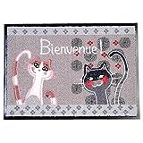 Funny Pets 门垫 猫 Bienvenue 70 x 50 厘米