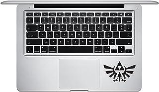 模切乙烯基贴花贴纸Triforce 标志 塞尔达传说 适用于 MacBook 笔记本电脑运动键盘451-S
