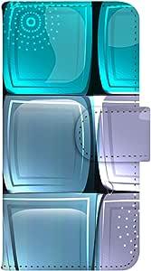 智能手机壳 手册式 对应全部机型 印刷手册 wn-148top 套 手册 图形艺术 UV印刷 壳WN-PR014363-S AQUOS PHONE es WX04SH B款