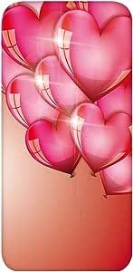 智能手机壳 TPU 印刷 对应多种机型 cw-436top 套 心形气球 气球 UV印刷 软壳WN-PR495081 Xperia Z5 501SO 图案D