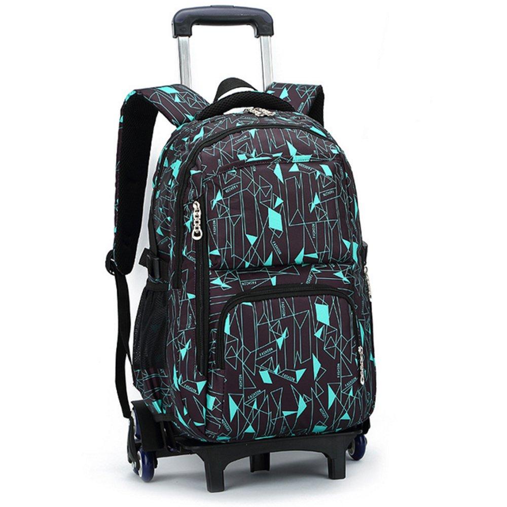 书包小学生中学生2年级-9年级拉杆双肩背书包可拆卸书包9113 7款颜色
