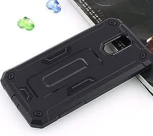 Moto G4/G4 Plus 手机壳,LWGON Nillkin 防震磨砂防震哑光塑料纤薄硬壳壳(带屏幕保护膜)Moto G4 / G4 Plus jazz black