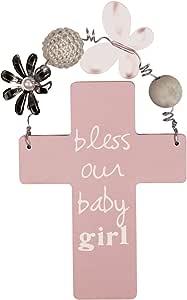 C.R. Gibson 珍藏十字架 Sandra Magsamen 出品 Bless Our Baby Girl 小号